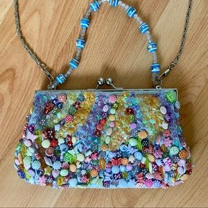 Handbags - Vintage Sequin / Beaded Evening Bag